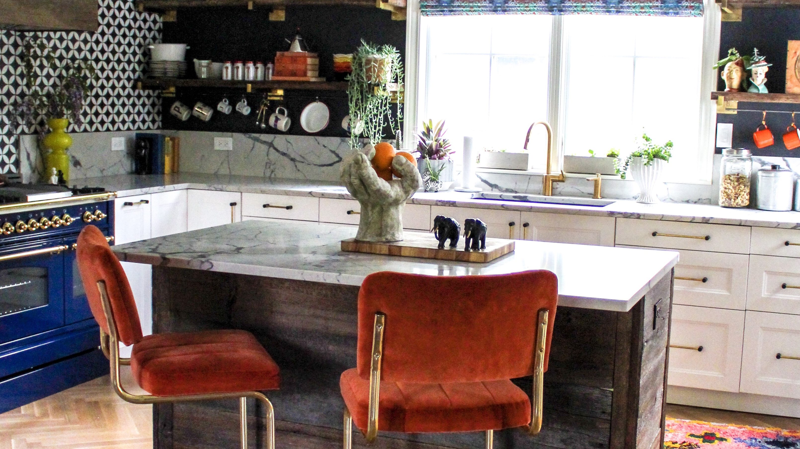 One Room Challenge | Our Bold Eclectic Kitchen REVEAL