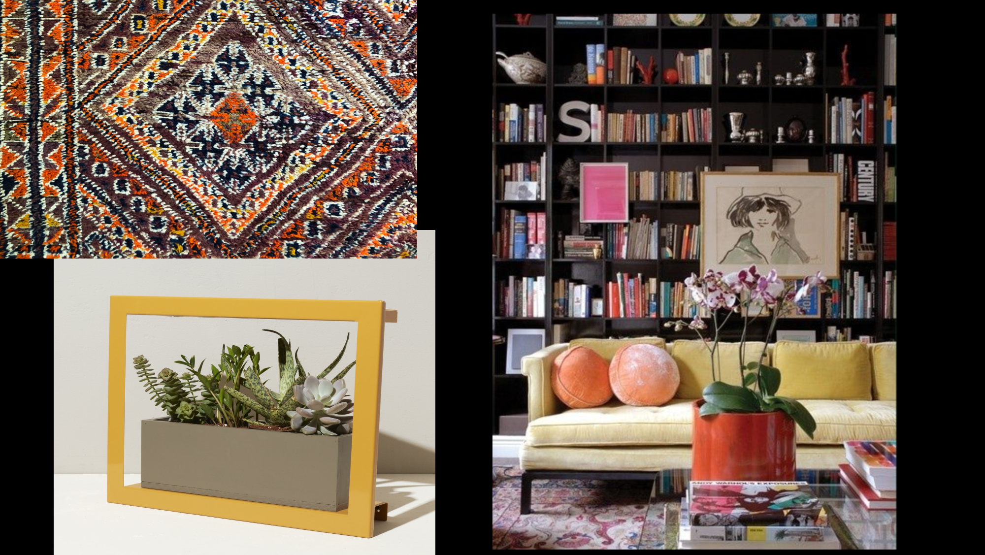 KATE PEARCE VINTAGE TACKLES A MOODY LIBRARY FOR THE FALL 2019 ONE ROOM CHALLENGE