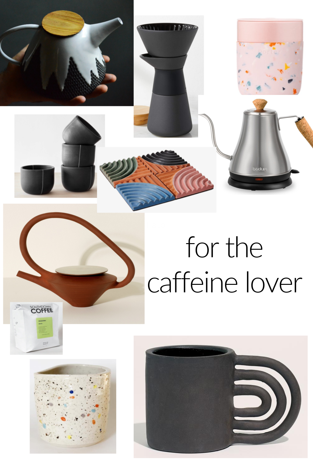 HOLIDAY 2020 GIFT GUIDE: FOR THE COFFEE (OR TEA!) ADDICT