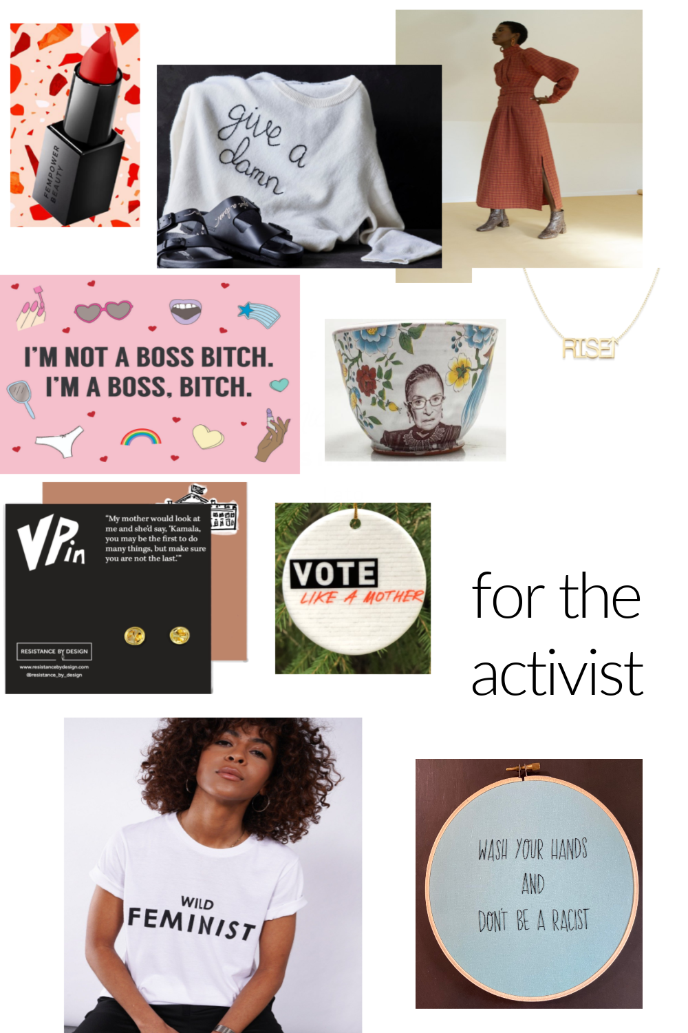HOLIDAY 2020 GIFT GUIDE: FOR THE ACTIVIST