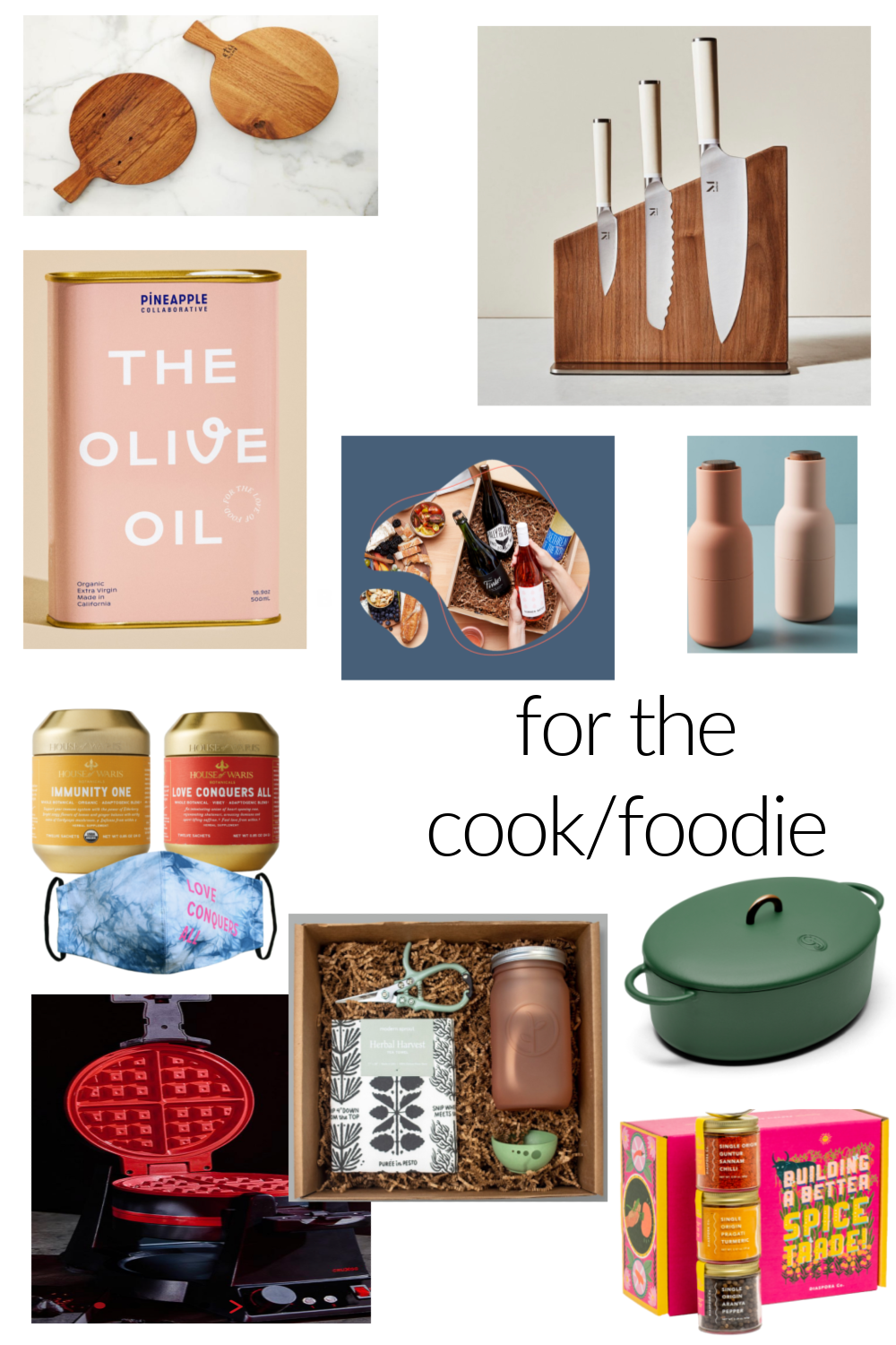 HOLIDAY 2020 GIFT GUIDE: FOR THE COOK/FOODIE