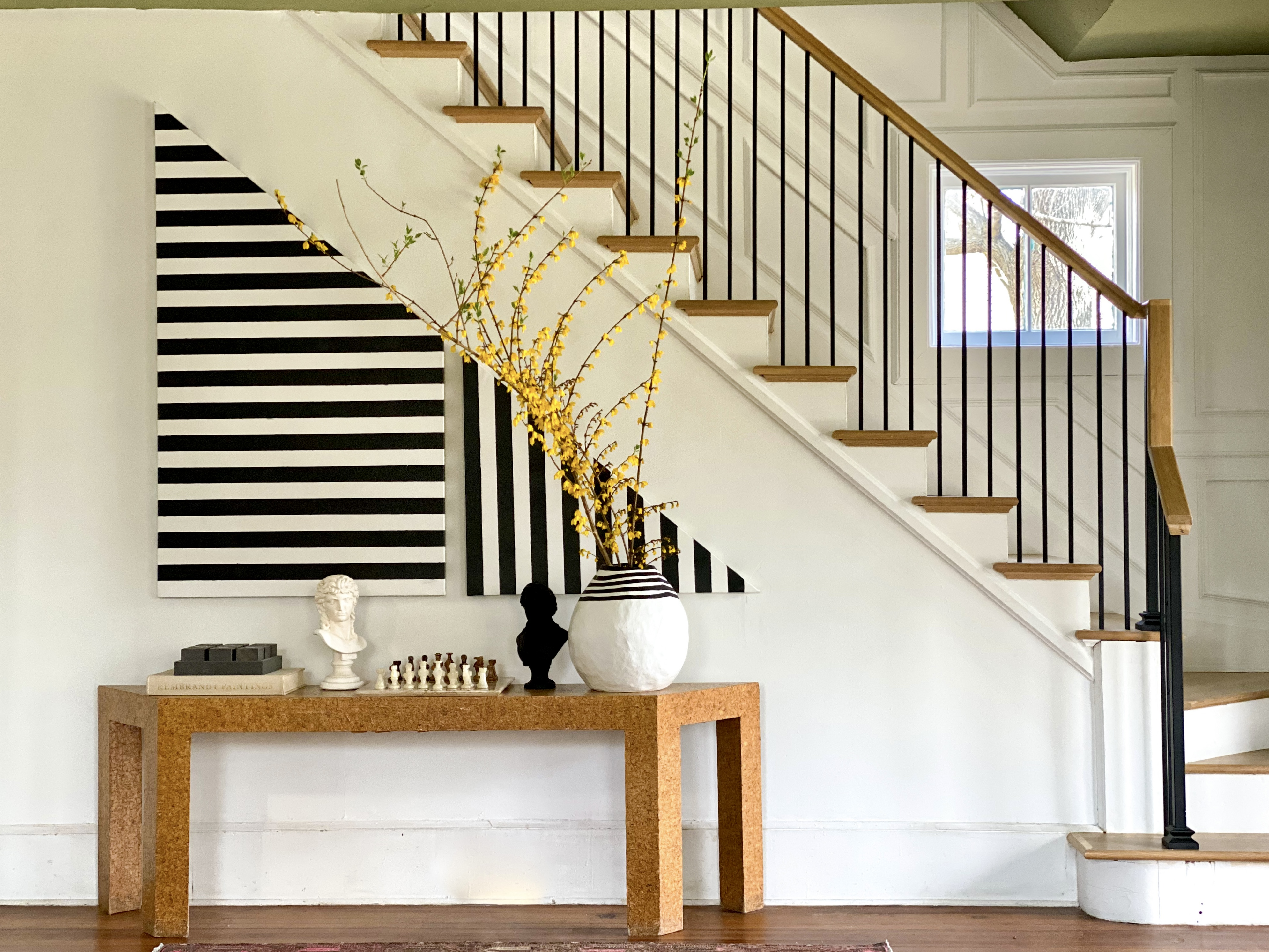 OUR ECLECTIC STAIRCASE REVEAL: a Marriage of Modern and Traditional