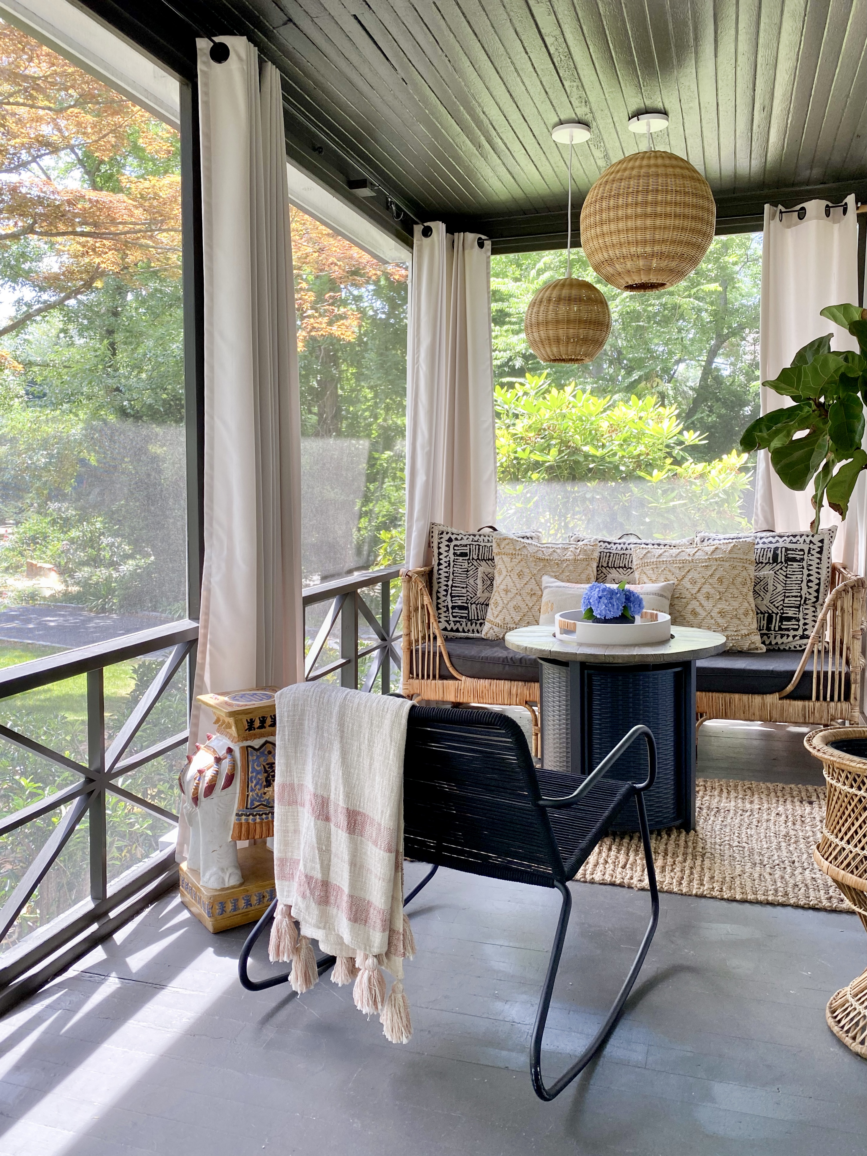 Our Summer Porch Refresh with Serena & Lily