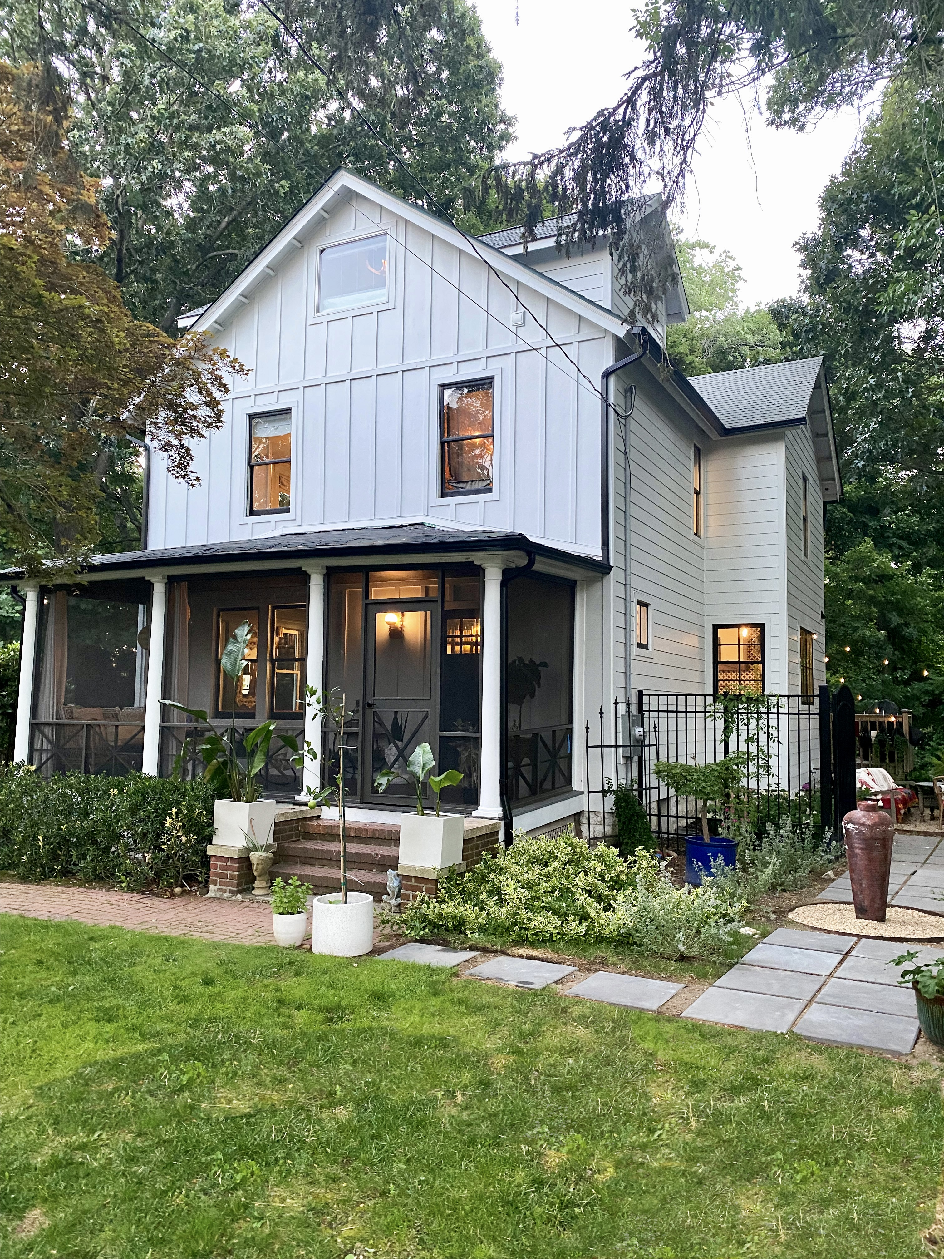 Our Exterior Reveal: How Hardie® Fiber Cement Products Transformed and Modernized our Historic Farmhouse